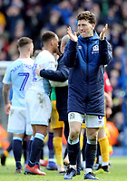 Blackburn Rovers' Joe Rothwell looks dejected as he applauds the fans at the final whistle <br /> <br /> Photographer Rich Linley/CameraSport<br /> <br /> The EFL Sky Bet Championship - Blackburn Rovers v Preston North End - Saturday 9th March 2019 - Ewood Park - Blackburn<br /> <br /> World Copyright © 2019 CameraSport. All rights reserved. 43 Linden Ave. Countesthorpe. Leicester. England. LE8 5PG - Tel: +44 (0) 116 277 4147 - admin@camerasport.com - www.camerasport.com