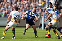 Tom Dunn of Bath Rugby in possession. Gallagher Premiership match, between Bath Rugby and Wasps on May 5, 2019 at the Recreation Ground in Bath, England. Photo by: Patrick Khachfe / Onside Images