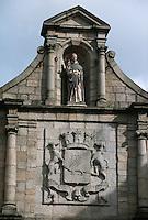 Europe/France/Bretagne/56/Morbilhan/Vannes: Porte St Vincent détail Place Gambetta