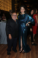 """ABC, DISNEY TV STUDIOS, FX, HULU, & NATIONAL GEOGRAPHIC 2019 EMMY AWARDS NOMINEE PARTY: Danny DeVito and Aya Cash attends the """"ABC, Disney TV Studios, FX, Hulu & National Geographic 2019 Emmy Awards Nominee Party"""" at Otium on September 22, 2019 in Los Angeles, California. (Photo by PictureGroup/Walt Disney Television)"""
