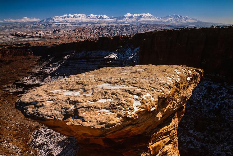 Pucker Pass,Canyonlands National Park,Winter,Utah
