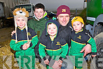WEATHER: Braving the wet and cold weather at the Abbeydorney Ploughing competition on Sunday were the O'Connnor family from Abbeydorney, Joseph, Padraig, Sean,pat and Ciarán O'Connor.