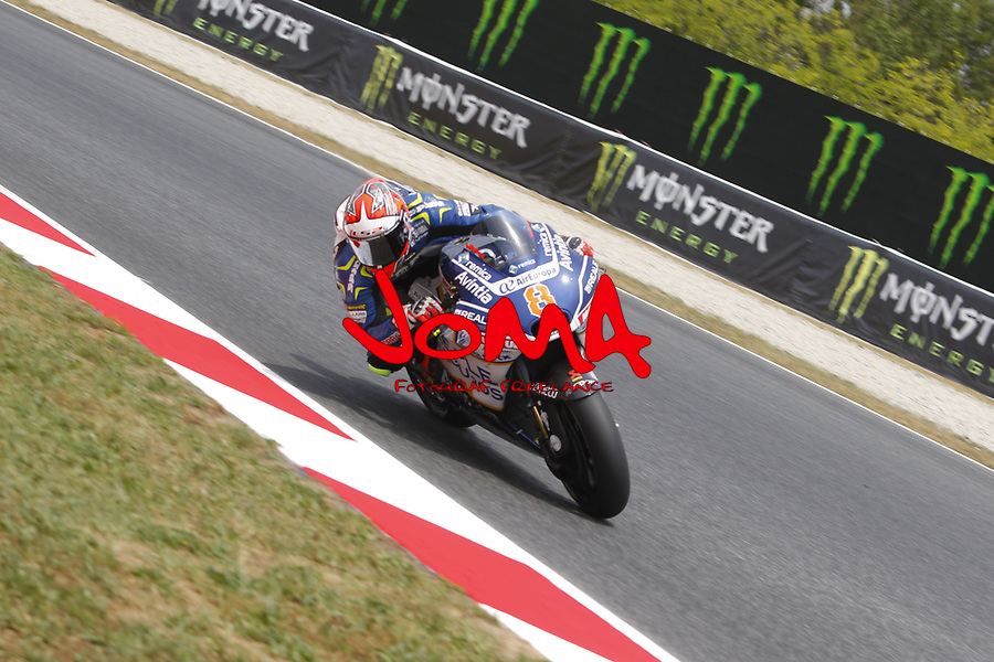 Hector Barbera (SPA) Reale Avianta Racing, Moto GP, Free practice, Gran Premi Monster Energy de Catalunya