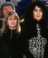 Chas Bono Cher 1985<br /> Photo By John Barrett/PHOTOlink.