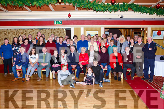Nuala Looney, Killarney seated centre celebrated her 70th birthday with her family and friends in the Killarney Avenue Hotel on Saturday night