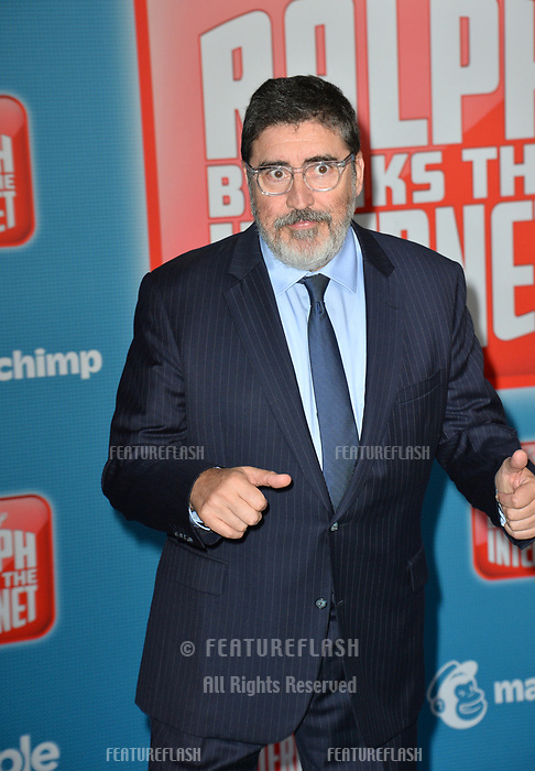 LOS ANGELES, CA. November 05, 2018: Alfred Molina at the world premiere of &quot;Ralph Breaks The Internet&quot; at the El Capitan Theatre.<br /> Picture: Paul Smith/Featureflash