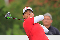 Yani Tseng (TPE) on the 2nd tee during Round 2 of the Ricoh Women's British Open at Royal Lytham &amp; St. Annes on Friday 3rd August 2018.<br /> Picture:  Thos Caffrey / Golffile<br /> <br /> All photo usage must carry mandatory copyright credit (&copy; Golffile | Thos Caffrey)
