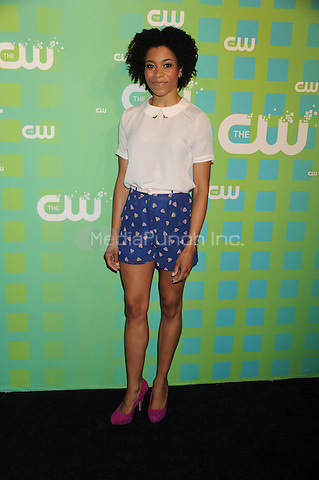 Kelly McCreary at The CW Network's 2012 Upfront at New York City Center on May 17, 2012 in New York City. . Credit: Dennis Van Tine/MediaPunch