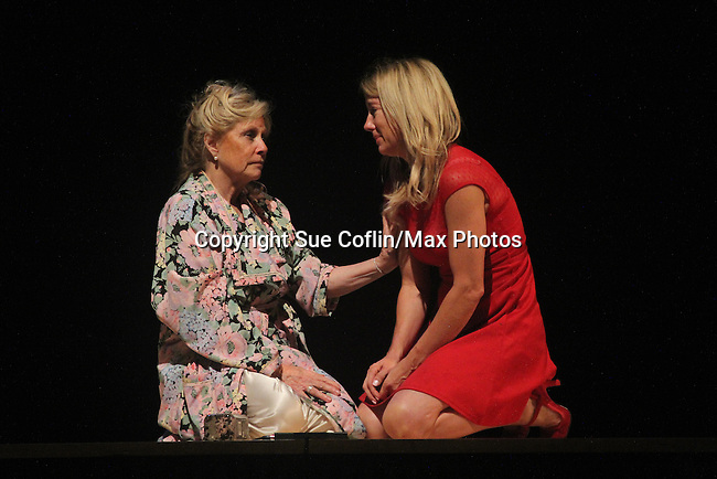 """Guiding Light's Cynthia Watros and Tina Sloan star in """"Breathing Under Dirt"""" - full play - had its world premier on August 13 and 14, 2016 at the Ella Fitzgerald Performing Arts Center, University of Maryland Eastern Shore, Princess Anne, Maryland  (Photo by Sue Coflin/Max Photos)"""
