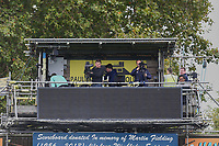 TV gantry during AFC Wimbledon vs Rochdale, Sky Bet EFL League 1 Football at the Cherry Red Records Stadium on 5th October 2019
