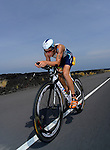 KAILUA-KONA, HI - OCTOBER 12:  Sebastian Kienle of  Germany competes in the bike portion during the 2013 Ironman World Championship on October 12, 2013 in Kailua-Kona, Hawaii. (Photo by Donald Miralle) *** Local Caption ***