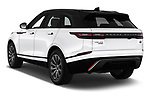 Car pictures of rear three quarter view of a 2018 Land Rover Range Rover Velar Dynamic SE 5 Door SUV angular rear