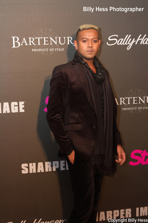 Mark De Alwis at Star Magazine Scene Stealers Red carpet event NYC