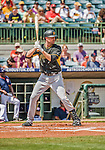 22 March 2015: Pittsburgh Pirates infielder Jordy Mercer at bat during a Spring Training game against the Houston Astros at Osceola County Stadium in Kissimmee, Florida. The Astros defeated the Pirates 14-2 in Grapefruit League play. Mandatory Credit: Ed Wolfstein Photo *** RAW (NEF) Image File Available ***