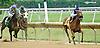 Pistolina winning at Delaware Park on 7/2614