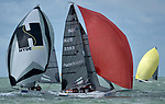 COWES, ENGLAND - AUGUST 01: Lendy Cowes Week Sailing caption on August 1, 2017 in Cowes, England. (Photo by Leo Mason Split Second/Corbis via Getty Images)<br /> Media event 775015660