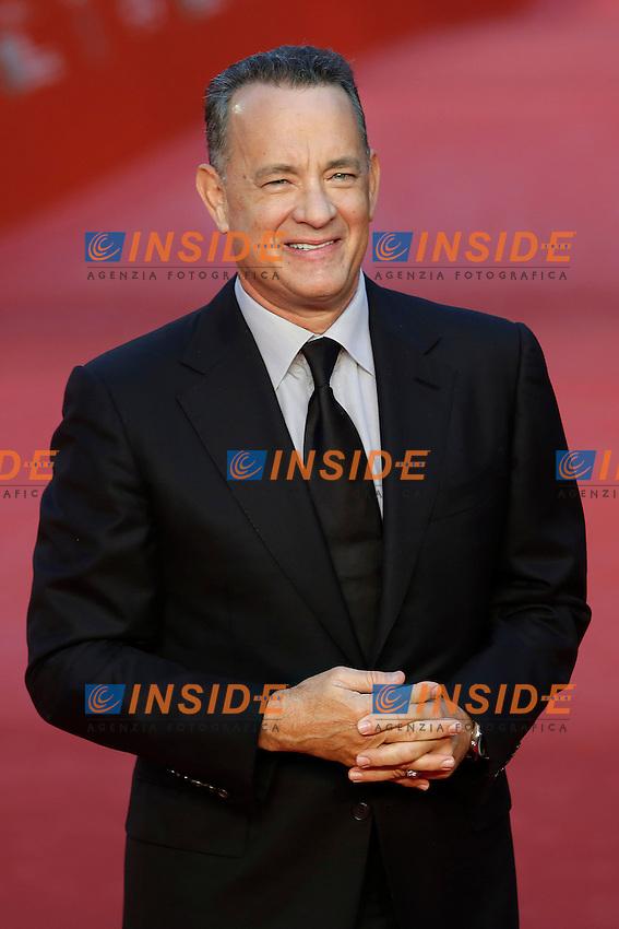 Tom Hanks <br /> Roma 13-10-2016. Festa del Cinema di Roma XI edizione<br /> Rome 13th October 2016. Rome Film Fest XI edition.<br /> Foto Samantha Zucchi Insidefoto