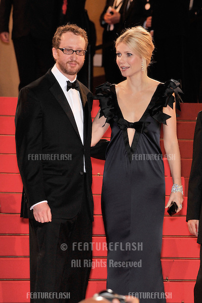 "Director James Gray (left) & Gwyneth Paltrow at the premiere of their new movie ""Two Lovers"" at the 61st Annual International Film Festival de Cannes..May 19, 2008  Cannes, France..Picture: Paul Smith / Featureflash"