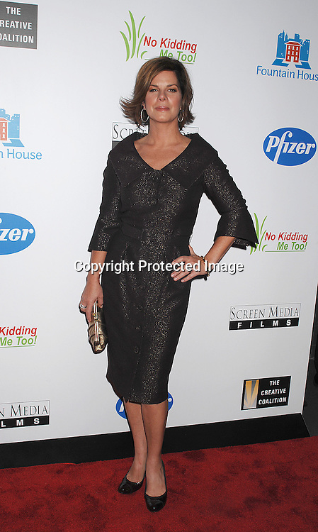 "Marcia Gay Harden..posing for photographers at The New York Premiere of ..""Canvas"" starring Marcia Gay Harden and Joe Pantoliano..on October 9, 2007 at The French Institute. ....photo by Robin Platzer, Twin Images....212-935-0770"