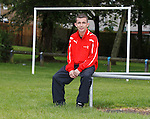 Actor Paul Brannigan back doing his voluntary football coaching for kids and warning them about the dangers of gang culture and prison life using first hand experiences from growing up in the East End of Glasgow and being jailed for four years as a teenager.