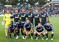 San Jose Earthquakes Starting Eleven. The San Jose Earthquakes tied Toronto FC 1-1 at Buck Shaw Stadium in Santa Clara, California on April 9th, 2011.