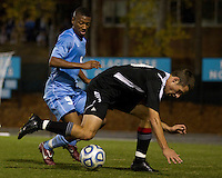 Number one seed University of North Carolina Tarheels against Coastal Carolina Chanticleers at UNC's Fetzer Field
