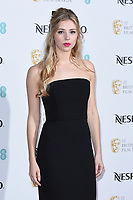 Hermione Corfield<br /> arriving for the 2019 BAFTA Film Awards Nominees Party at Kensington Palace, London<br /> <br /> ©Ash Knotek  D3477  09/02/2019