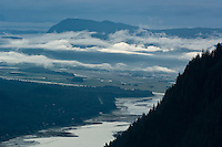 View of Gastineau Channel from Mt. Roberts-Juneau, Alaska, USA