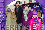 Enjoying the Fun when the Cadbury's Chocolate Truck came to the Square Tralee on Saturday were Emma McCluskey, Richard McCluskey, Suzanne McCluskey, Rachel McCluskey, Clash East Tralee