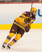 Seth Ambroz (MN - 17) - The Union College Dutchmen defeated the University of Minnesota Golden Gophers 7-4 to win the 2014 NCAA D1 men's national championship on Saturday, April 12, 2014, at the Wells Fargo Center in Philadelphia, Pennsylvania.