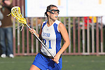 Santa Barbara, CA 02/18/12 - Katie Mitchell (UCSB #21) in action during the UCSB-Washington matchup at the 2012 Santa Barbara Shootout.  UCSB defeated Washington