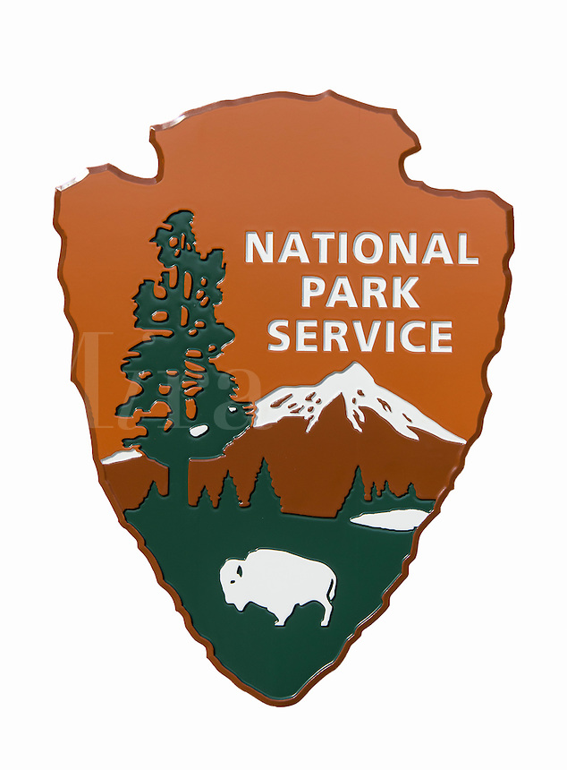 USA National Park Service sign.