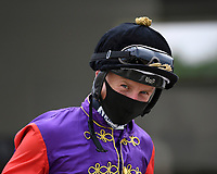 Jockey Tom Marquand during Horse Racing at Salisbury Racecourse on 13th August 2020