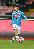 Lorenzo Insigne  during the  italian serie a soccer match,between SSC Napoli and Chievo Verona      at  the San  Paolo   stadium in Naples  Italy , March 05, 2016<br /> Napoli won  3 - 1