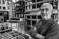 Peter Zumthor, a Swiss architect and winner of the 2009 Pritzker Prize.