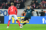 04.11.2018, Opel-Arena, Mainz, GER, 1 FBL, 1. FSV Mainz 05 vs SV Werder Bremen, <br /> <br /> DFL REGULATIONS PROHIBIT ANY USE OF PHOTOGRAPHS AS IMAGE SEQUENCES AND/OR QUASI-VIDEO.<br /> <br /> im Bild: Niklas Moisander (SV Werder Bremen #18)<br /> <br /> Foto © nordphoto / Fabisch