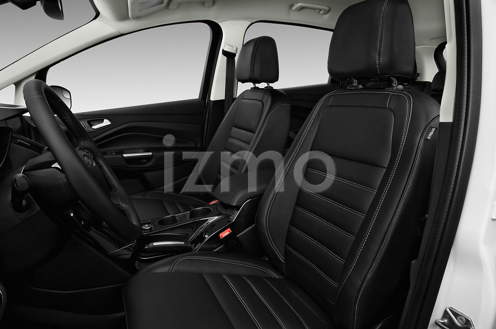 Front seat view of 2017 Ford C-Max Energi-Titanium 5 Door Mini MPV Front Seat  car photos