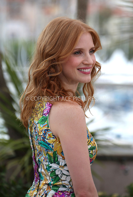 """WWW.ACEPIXS.COM . . . . .  ..... . . . . US SALES ONLY . . . . .....May 18 2012, Cannes....Jessica Chastain at the photocall for """"Madagascar 3: Europe's Most Wanted"""" at the Cannes Film Festival on May 18 2012  in France ....Please byline: FAMOUS-ACE PICTURES... . . . .  ....Ace Pictures, Inc:  ..Tel: (212) 243-8787..e-mail: info@acepixs.com..web: http://www.acepixs.com"""