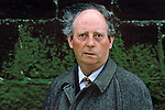 Irish author John McGahern ( 1934-2006) attending book fair in Saint-Malo, France.