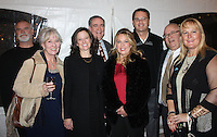 NWA Democrat-Gazette/CARIN SCHOPPMEYER Barry and Susan Andrews (from left), Shari and Lamar Steiger, Shelley and Doug McMillon and Alan and Corrina Dranow help support The Peel Compton Foundation at the nonprofit organization's annual Christmas gala Dec. 10 at the Peel Mansion.