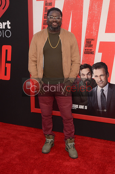 """Lil Rel Howery<br /> at the """"Tag"""" World Premiere, Village Theater, Westwood, CA 06-07-17<br /> David Edwards/DailyCeleb.com 818-249-4998"""