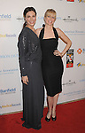 BEVERLY HILLS, CA - OCTOBER 01: Michelle Forbes and Kristin Bauer arrives at The American Humane Association's First Annual Hero Dog Awards at The Beverly Hilton Hotel on October 1, 2011 in Beverly Hills, California.