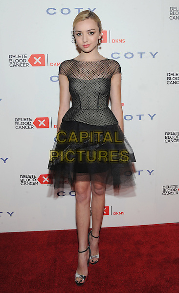 New York, NY- April 16: Actress Peyton List attends the 9th Annual Delete Blood Cancer Gala at Cipriani Wall Stret on April 16, 2015 in New York City. <br /> CAP/MPI/STV<br /> &copy;STV/MPI/Capital Pictures