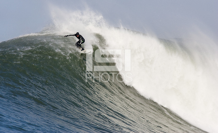 Greg Long. Mavericks Surf Contest in Half Moon Bay, California on February 13th, 2010.