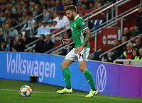 Mark Sykes (Nordirland, Northern Ireland) - 09.09.2019: Nordirland vs. Deutschland, Windsor Park Belfast, EM-Qualifikation DISCLAIMER: DFB regulations prohibit any use of photographs as image sequences and/or quasi-video.