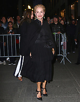 www.acepixs.com<br /> <br /> April 19, 2017 New York City<br /> <br /> Carolina Herrera arriving at the Harper's Bazaar 150th Anniversary celebration at the Rainbow Room on April 19, 2017 in New York City.<br /> <br /> By Line: Nancy Rivera/ACE Pictures<br /> <br /> <br /> ACE Pictures Inc<br /> Tel: 6467670430<br /> Email: info@acepixs.com<br /> www.acepixs.com