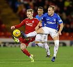 06.02.2019: Aberdeen v Rangers: Gary Mackay-Steven and Scott Arfield
