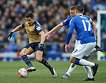 Alexis Sanchez of Arsenal during the Barclays Premier League match at The Goodison Park Stadium. Photo credit should read: Simon Bellis/Sportimage