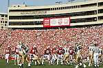 Madison, Wisconsin - 9/6/2003.  University of Wisconsin hosted the University of Akron at Camp Randall Stadium. Wisconsin beat Akron 48-31. (Photo by David Stluka).