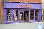 Evolution shop, Colchester, Essex